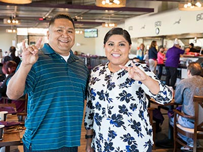 Homecoming Brunch Lopes Up